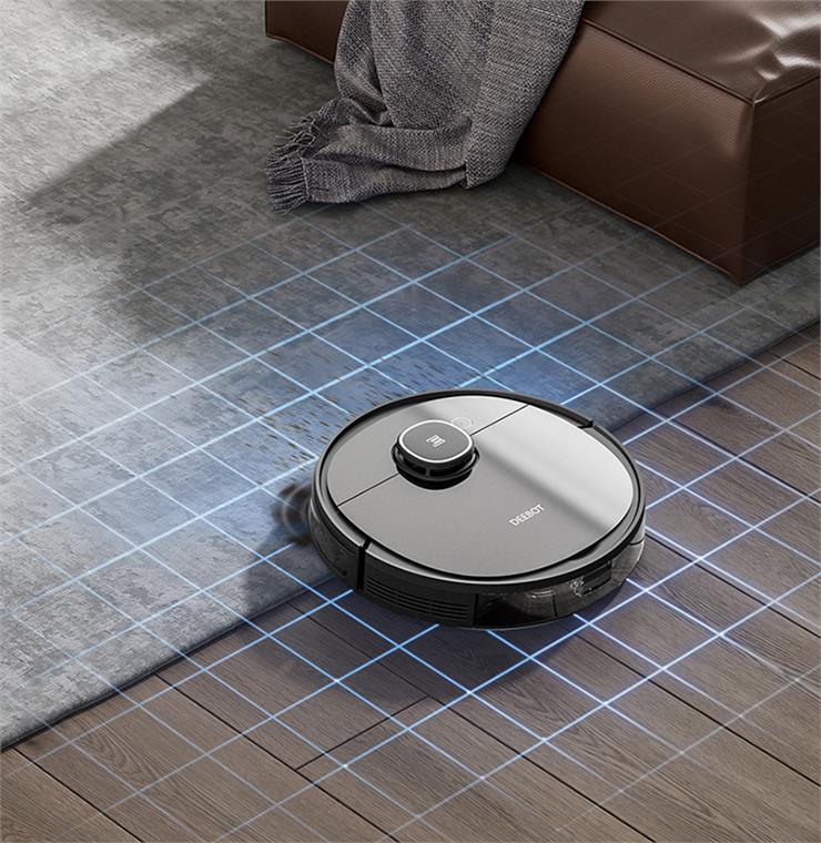 Robot tự nhận diện thảm