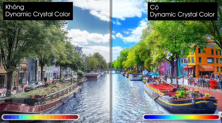 Dynamic Crystal Color cho dải màu sắc chân thật nhất