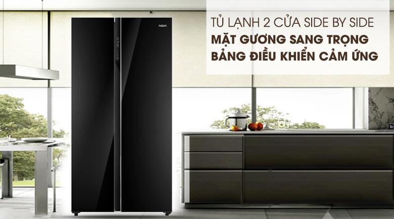 Tủ lạnh Aqua AQR-IG696FS (GB)
