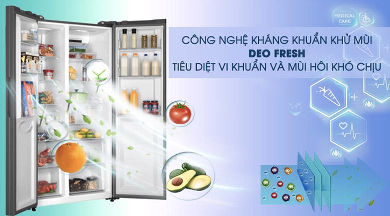 Tủ lạnh Aqua AQR-IG696FS (GB) - khử mùi hôi