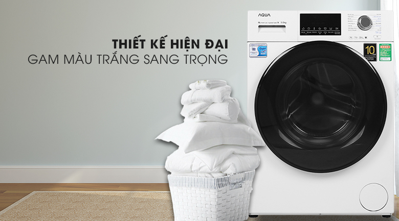 Máy giặt AQUA aqd-d900f sang trọng hiện đại