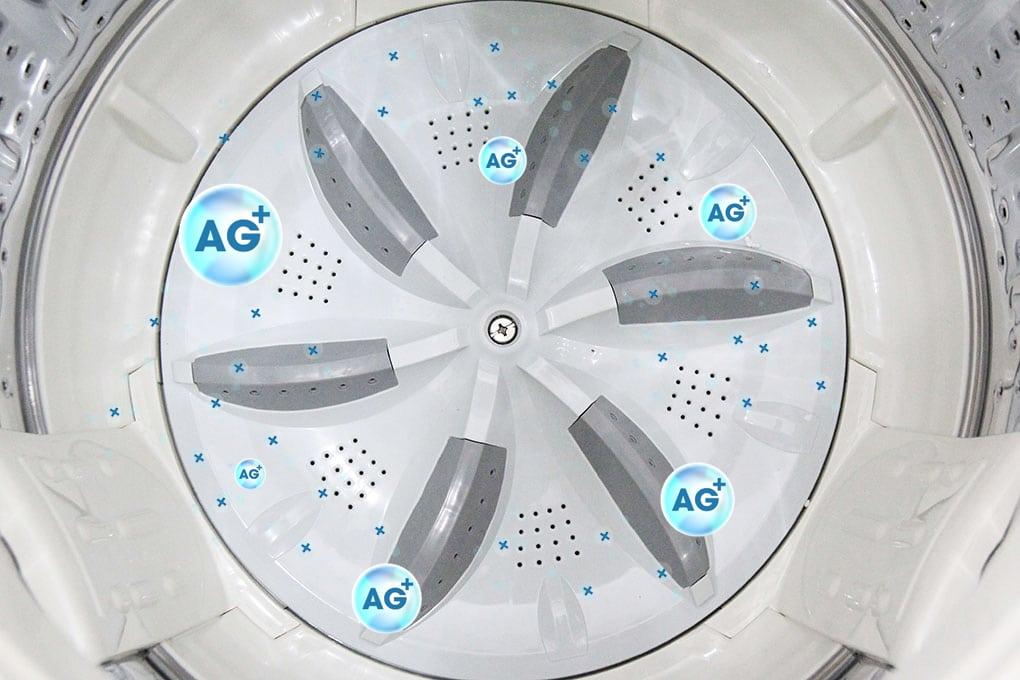 Lồng giặt tạo ra phân tử Ag+