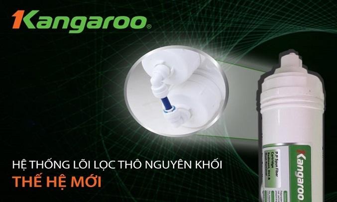 Máy lọc nước Kangaroo KG100HK-VTU hệ thống lõi nguyên khối