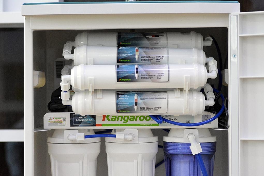 Bộ lõi máy lọc nước Kangaroo KG100HP-VTU